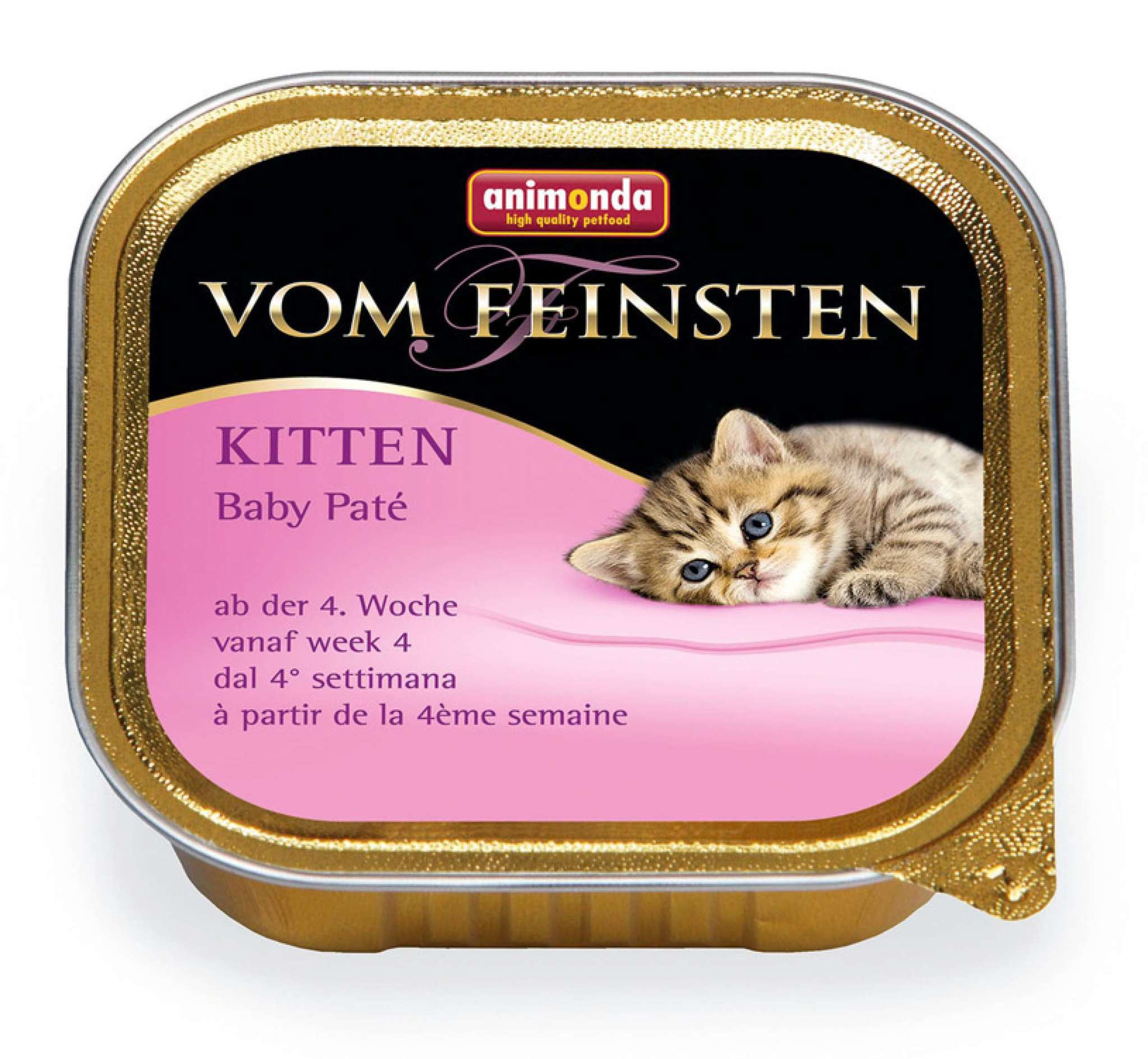 Консервы паштет для котят Animonda Vom Feinsten Kitten Baby Pate
