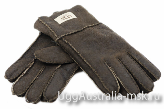 UGG Men's Glove Metallic Brown