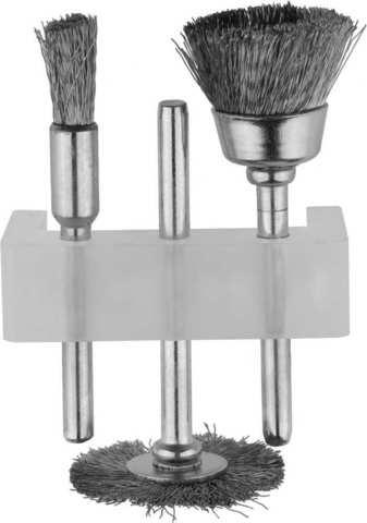 STAYER набор щеток для чистки, нержавеющая сталь, 3 предм.