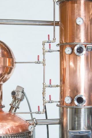Дистиллятор промышленный медный Des DWA AromaMax 50 дал