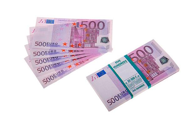 Сувенирные деньги (рубли, евро)