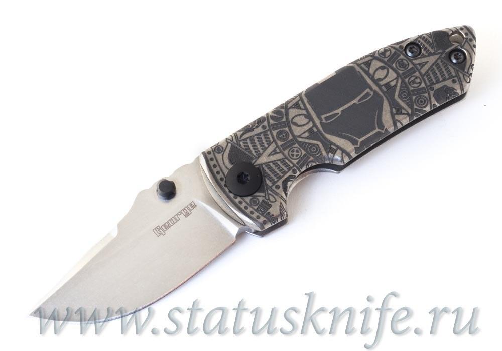 Нож ESV Extra Small VECP Full Custom Les George