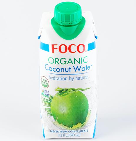Вода кокосовая органическая Foco, 330мл