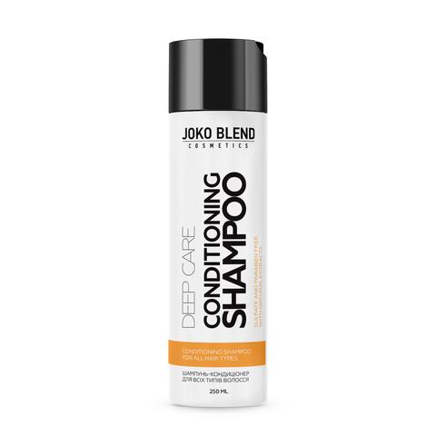 Безсульфатний шампунь-кондиціонер + Бальзам для всіх типів волосся Deep Care + Набір резинок Power Bobble Light Pink Mix В ПОДАРУНОК! (2)