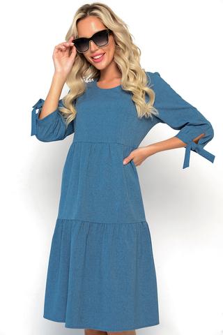 <p><span>Идеальное платье из качественного материала на все случаи жизни - это то, в чём нуждается любая девушка. Иногда хочется сменить свой образ и выделиться на фоне других. Именно для этих случаев создано женское платье Супер Альба. Оно шикарно подходит под любую обувь и придаёт индивидуальность каждой девушке. Такое женское платье скрывает все мелкие недостатки фигуры и тела, помогая выделить только самое лучшее. В таком наряде не стыдно появиться на людях. Элегантность и красота привлечёт внимание совершенно любого мужчины. Надевая новое женское платье Супер Альба Вы будете в центре внимания! Его поистине можно назвать уникальной и неповторимой новинкой этого сезона. Рукава составляют 3/4 от всей длины, и придают сексуальность девушке. Женское платье создано лучшими европейскими мастерами. Пошив производится из полиэстера - качественной и долговечной ткани. Успейте купить новинку сезона, платье Супер Альба по выгодной цене прямо сейчас!</span><span>&nbsp;(Длины: 46-48=102см; 50-52=103см)</span></p>