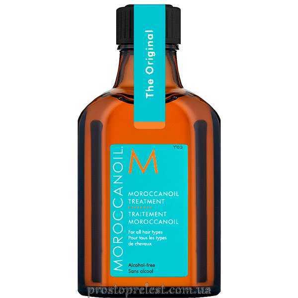Moroccanoil Treatment for All Hair Types - Відновлююча і захищаюча олія для всіх типів волосся