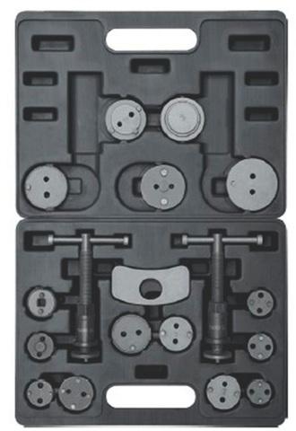 Набор ручных сепараторов для тормозных зажимов (18 предметов) СЕРВИС КЛЮЧ (71777)