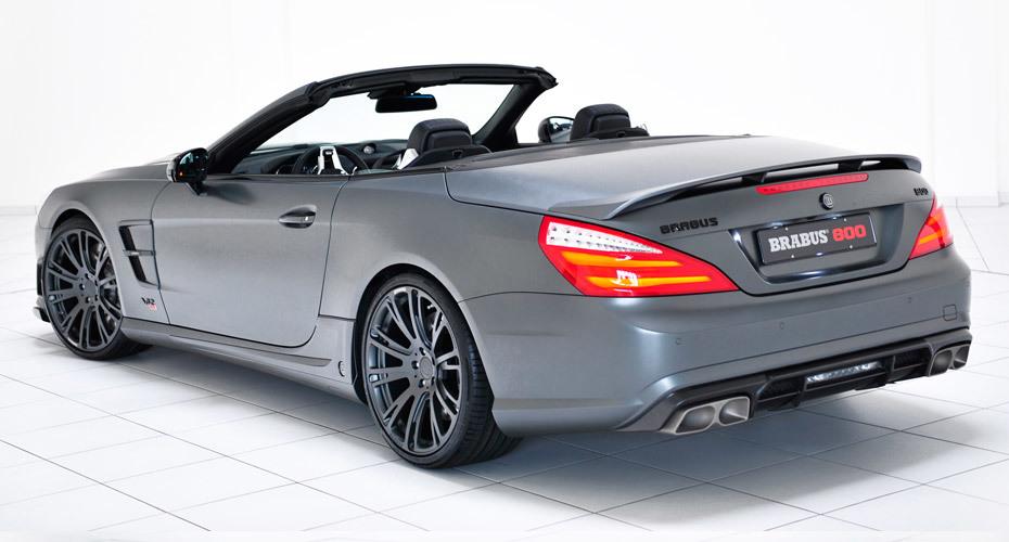 Обвес Brabus для Mercedes SL63 AMG R231