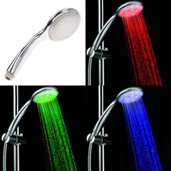 Светодиодный душ с подсветкой Led Shower (светодиодная насадка на душ)