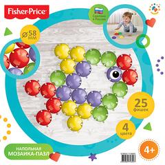 Fisher Price Мозаика напольная, 25 деталей (GT9050)