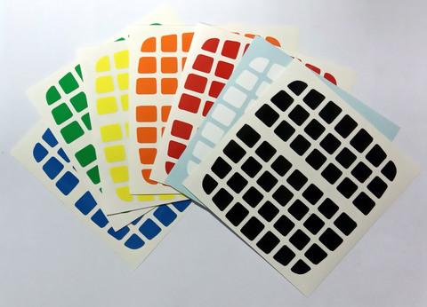 Стікери для кубів 7х7 V-Cube