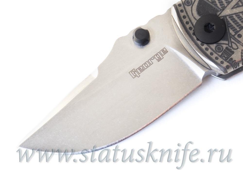 Нож ESV Extra Small VECP Full Custom Les George - фотография