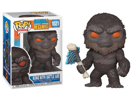 Funko POP! Movies Godzilla Vs Kong Kong w/Battle Axe