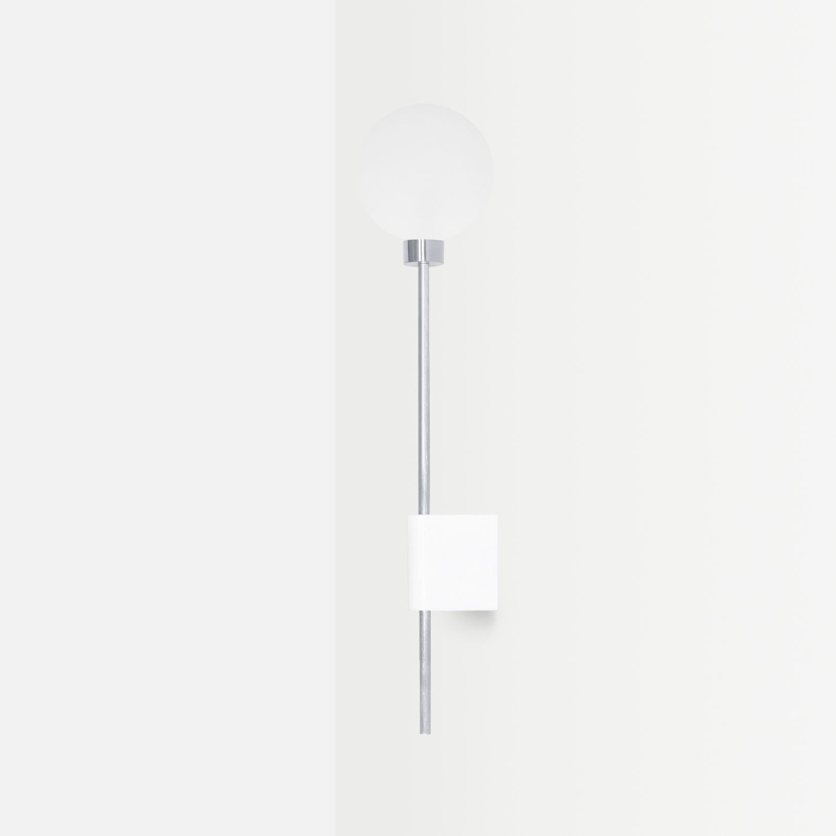 Настенный светильник Lanta белый мрамор - вид 3