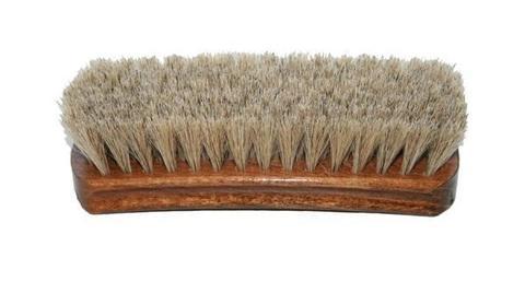 Щетка для гладкой кожи, натуральный  ворс Salrus 17см.