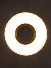 Встраиваемый светильник GP-8110-9W-GO Золото+Диодная подсветка
