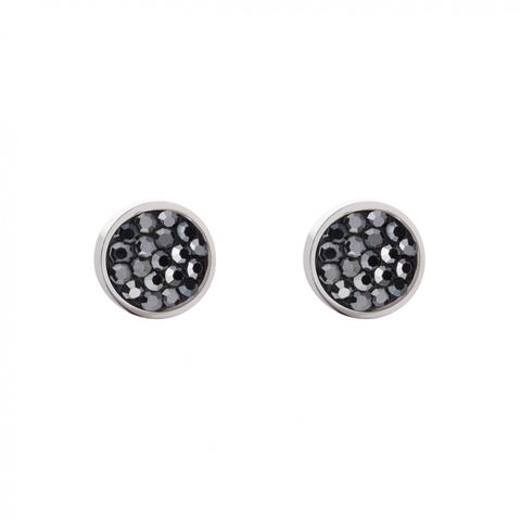 Серьги Coeur de Lion 0118/21-1223 цвет черный, серебряный