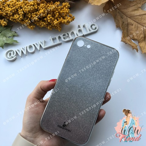 Чехол iPhone 7/8 Plus Swarovski Case /black/