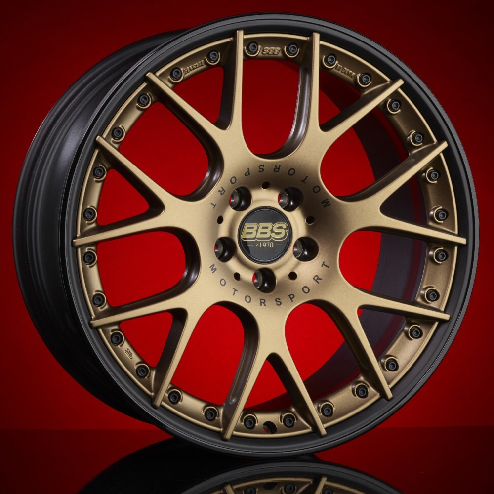Диск колесный BBS CH-R II 10.5x22 5x112 ET48 CB82.0 satin bronze
