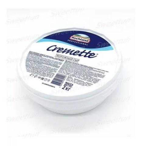 Творожный сыр Cremette  Хохланд 65%, 2кг
