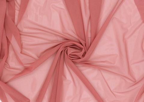 Эластичная сетка, пыльная роза, (Арт: ESP-1101)
