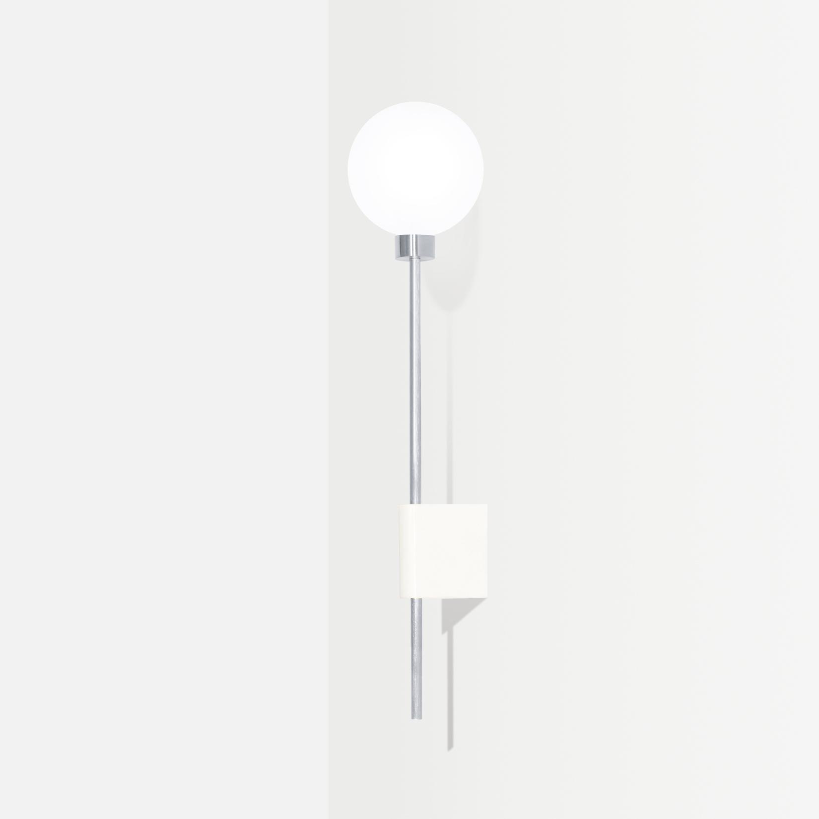 Настенный светильник Lanta белый мрамор - вид 4