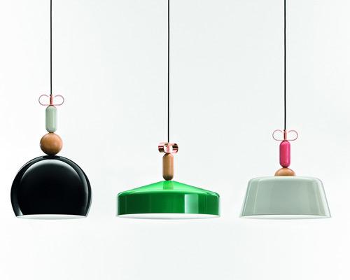 Подвесной светильник копия Bon Ton Т1B1 (красный) by YUUE Design Studio