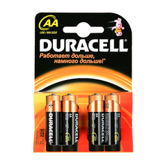 Батарейки Duracell LR6/MN1500 - AA(4шт.)