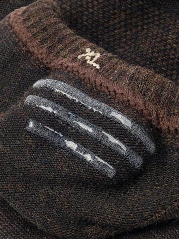 Следки темно-коричневого цвета - тройная упаковка