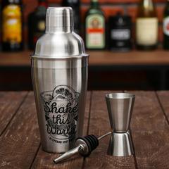 Набор для приготовления коктейлей «Shake this world», фото 4