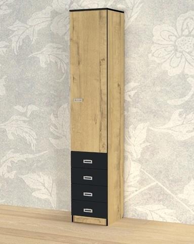 Шкаф КВИНС-5 правый /400*2100*423/