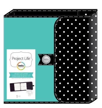 Планер-альбом на кольцах для  Project Life-  D-Ring Planner Album 15х20 см