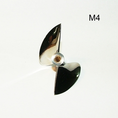 CNC propeller OCTURA X644 thread - М4 stainless steel modification