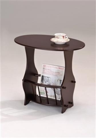 Столик кофейный SR 1044 овальный орех
