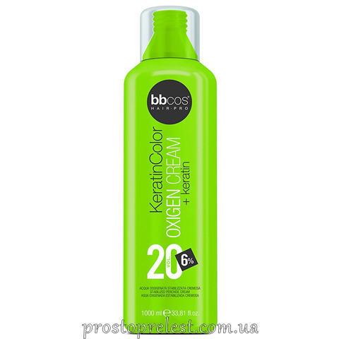 BBcos Keratin Color Oxigen Cream 20 Vol - Окислювач кремообразний 6%