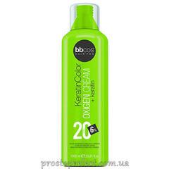 BBcos Keratin Color Oxigen Cream 20 Vol - Окислитель кремообразный 6%