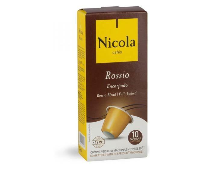 Кофе в капсулах Nicola Rossio