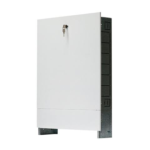 Шкаф распределительный внутренний STOUT - 760x596x195 мм (регулируемый, с накладной дверцей)
