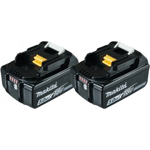 Аккумуляторные батареи Makita BL1850B (2 шт.)