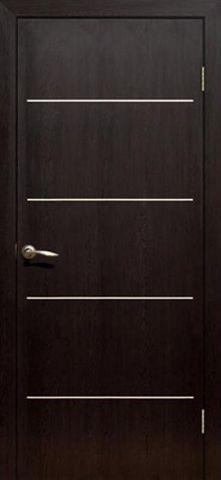 Дверь Сибирь Профиль Капелла, цвет венге оскуро, глухая