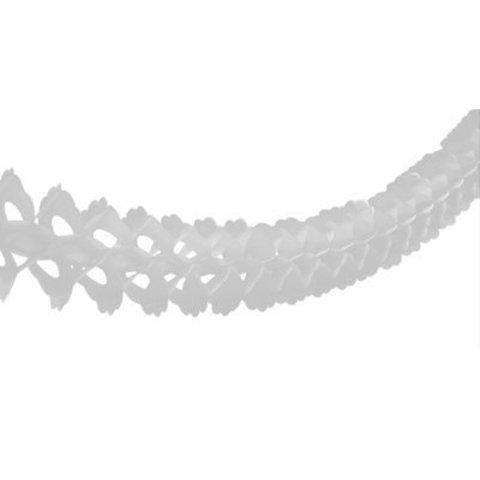 Гирлянда бум Декор белая 3,6м/G