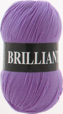 Пряжа Brilliant Vita 4961 сиреневый фото