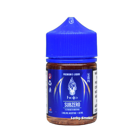 Жидкость Halo Blue Series PG 60 мл Subzero