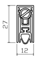 103SF GU28/45dB Порог автоматический SIPAM