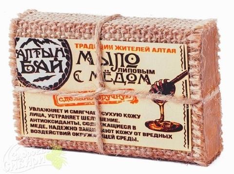 Мыло Алтын Бай с липовым медом, 80 г