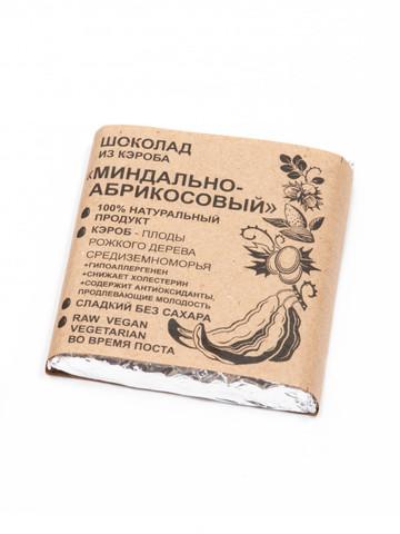 Шоколад из Кэроба Миндально-Абрикосовый 50г Био Кухня Урожай