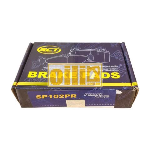 Передні гальмівні колодки SCT SP102 (ВАЗ 2101-2107, ВАЗ класика) 21013501090