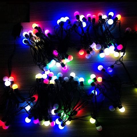 LED Гирлянда штора 3 на 1,8
