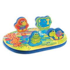 PLAYGRO Игрушка для ванны (конструктор-пазл) (0180175)