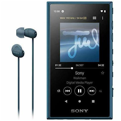 Sony Walkman NW-A105HNL синий цвет купить в Sony Centre Воронеж